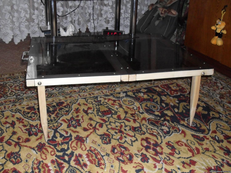 Походный столик своим руками фото