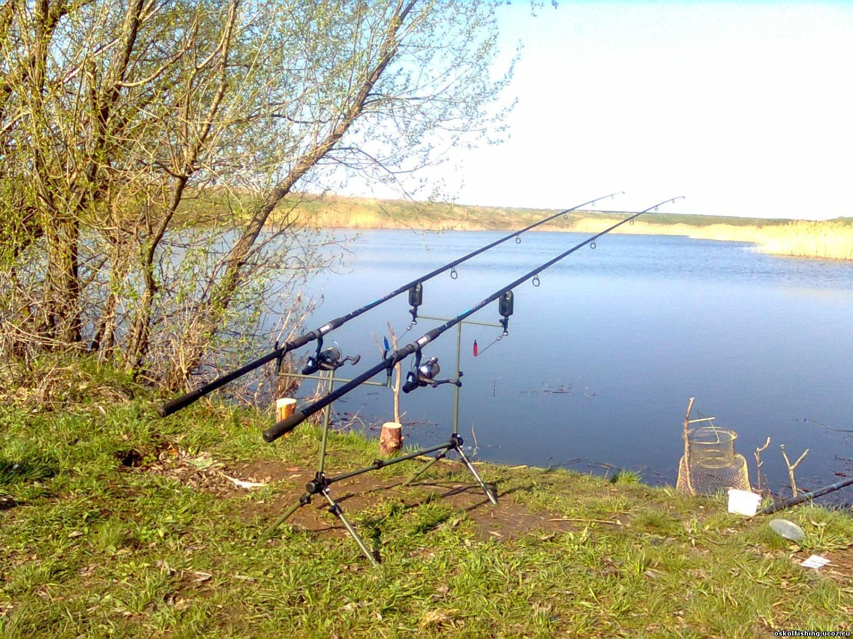 Рыбалка на маховую удочку весной, Ловля весной на маховую удочку Рыбалка - клев тут 12 фотография